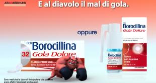 Neo Borocillina combatte i diavoli del mal di gola