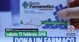#GRF16 Giornata di Raccolta del Farmaco
