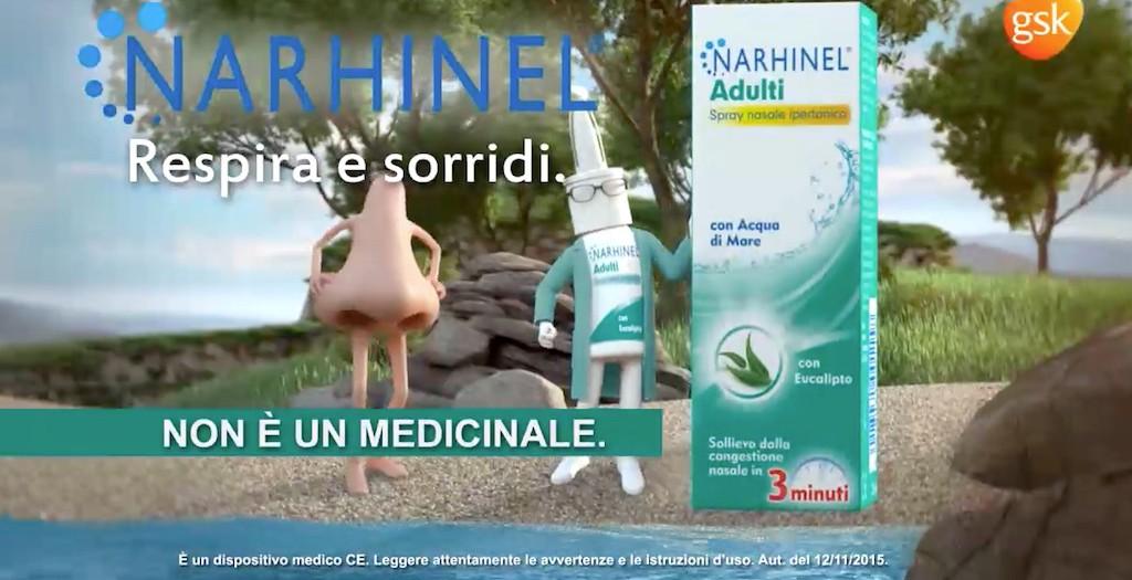 Narhinel Adulti con Acqua di Mare ed Eucalipto